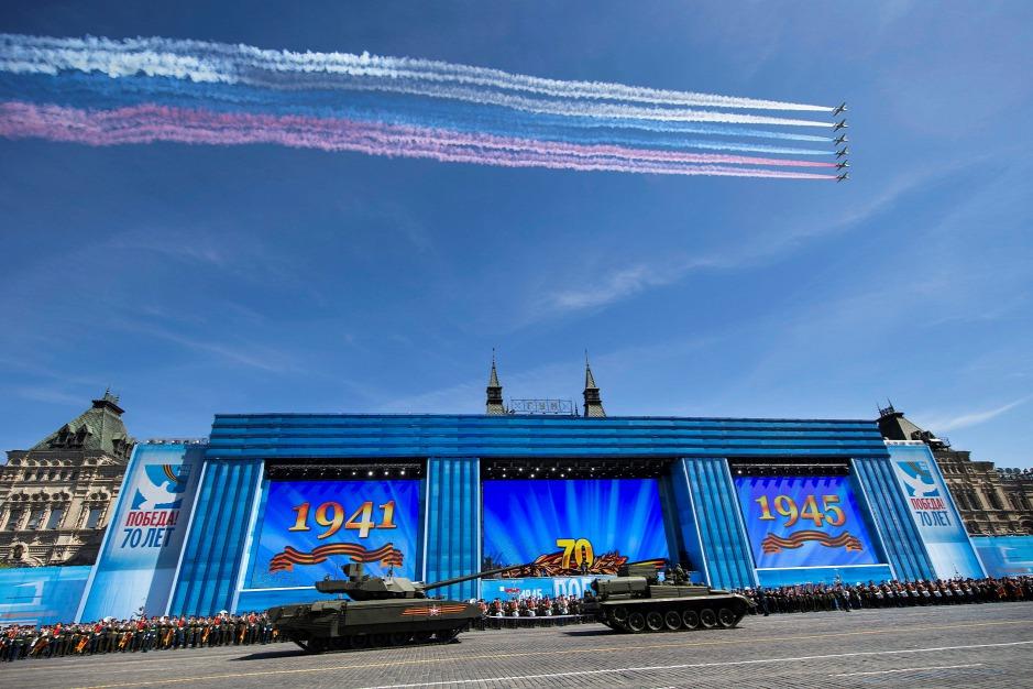 Tổng diễn tập cho Ngày Chiến thắng 9-5 - Ảnh: Alexander Zemlyachenko