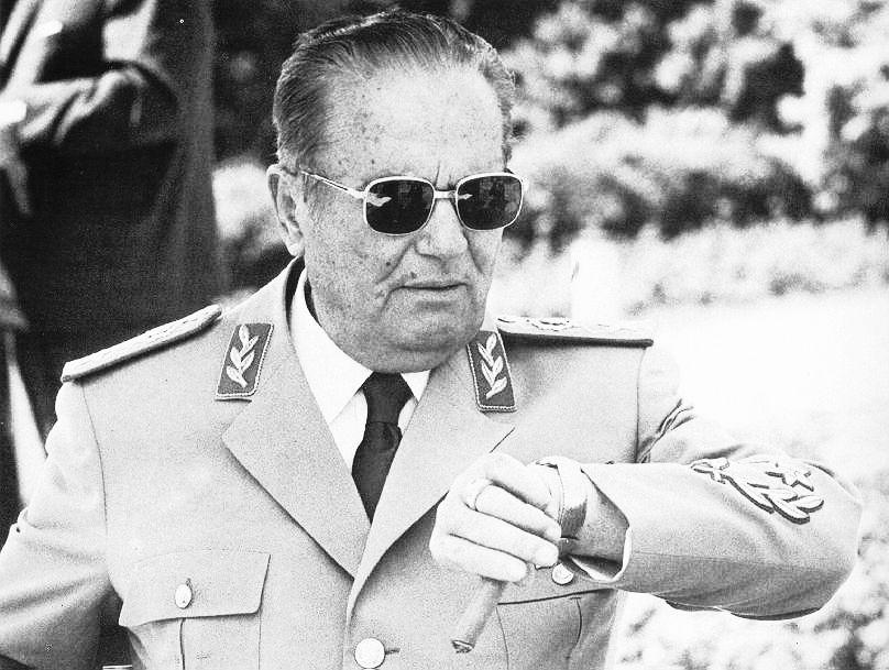 Josip Broz Tito (1892-1980), người hùng của Nam Tư (cũ)