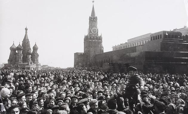 Quảng trường đỏ, Moscow (Liên Xô)