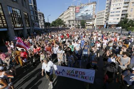 Budapest Pride 2015 - Ảnh: Csanádi Márton (origo.hu)