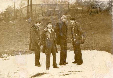 Mùa đông đầu tiên (1974) tại Hungary - Ảnh do nhân vật cung cấp