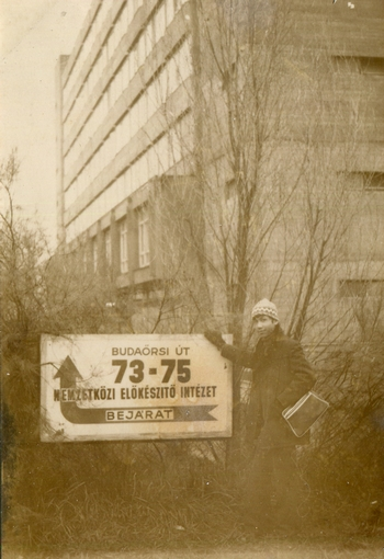 Năm đầu tiên ở Học viện Dự bị Quốc tế (NEI) - Ảnh do nhân vật cung cấp