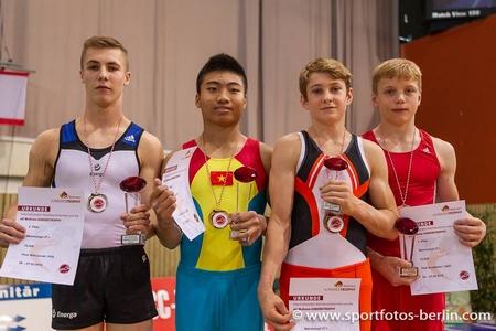 Thành công đáng khích lệ của các VĐV thể dục dụng cụ trẻ Việt Nam