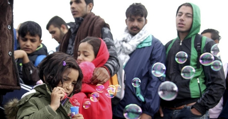 Người tỵ nạn tại Đức - Ảnh: euronews.com
