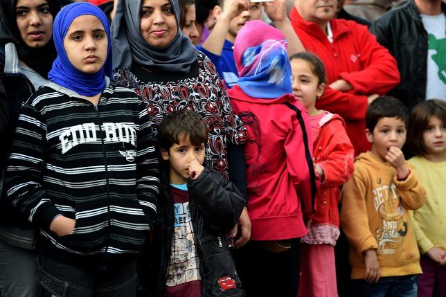 Người tỵ nạn ở Đức - Ảnh: Patrik Stollarz (AFP)