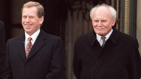 Göncz Árpád và Václav Havel, hai người bạn thân thiết, hai yếu nhân của biến chuyển dân chủ Đông Âu 1989 - Ảnh tư liệu