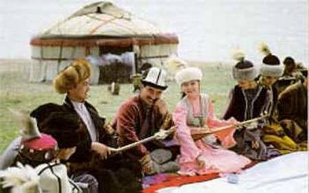 Trang phục Kazakhs