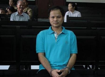 Con ruồi nửa tỉ của THP đưa một người vào vòng lao lý. Ảnh: anh Võ Văn Minh tại Tòa sơ thẩm