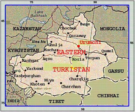 Đông Turkestan, vùng đất bí hiểm và đầy đau thương