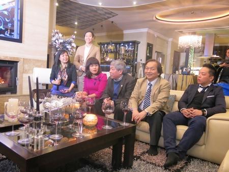 Một hình ảnh trong cuộc gặp mặt - Ảnh: PV
