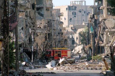 Lý do của đa số những cuộc trốn chạy: chiến tranh và sự tàn phá ở Syria