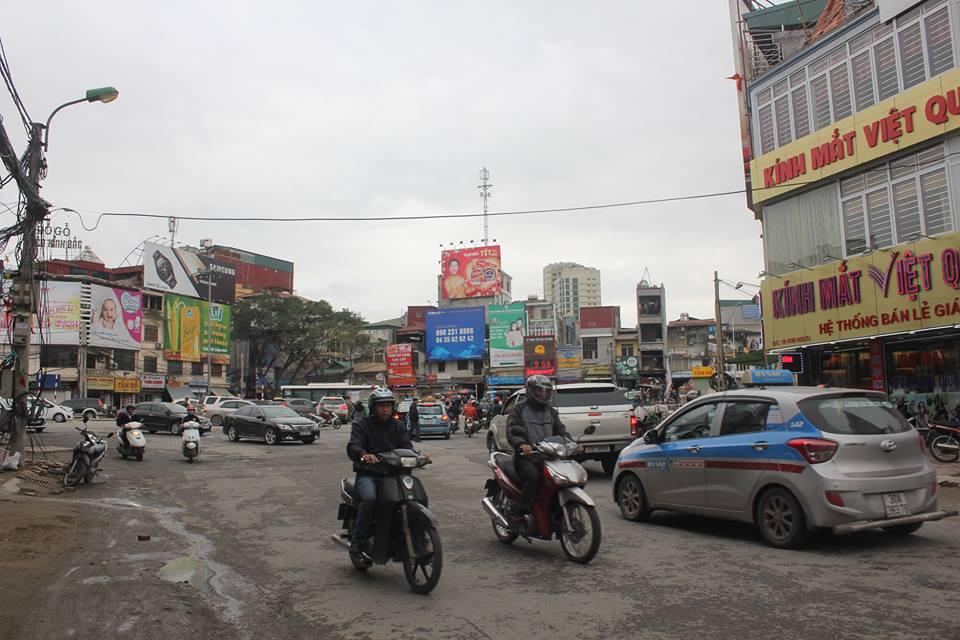 Nơi xảy ra tai nạn: ngã tư Kim Ngưu - Lò Đúc - Trần Khát Chân - Lương Yên