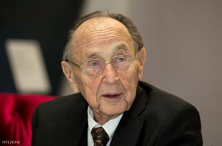 Cựu ngoại trưởng Hans-Dietrich Genscher - Ảnh: Sven Hoppe (MTI/EPA)
