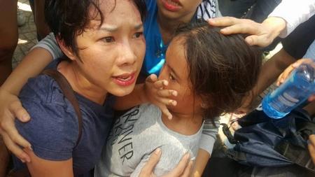 Hình ảnh đau đớn trong Ngày của Mẹ - Ảnh: Facebook