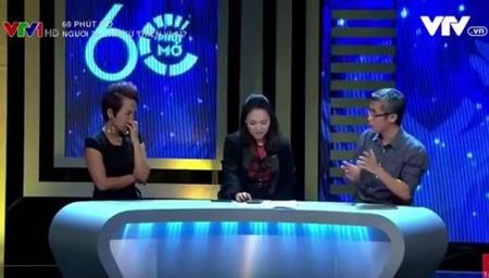 """MC Tạ Bích Loan liên tục gây bão vì cách đặt câu hỏi và dẫn chương trình trong """"60 phút mở"""" - Ảnh chụp màn hình"""