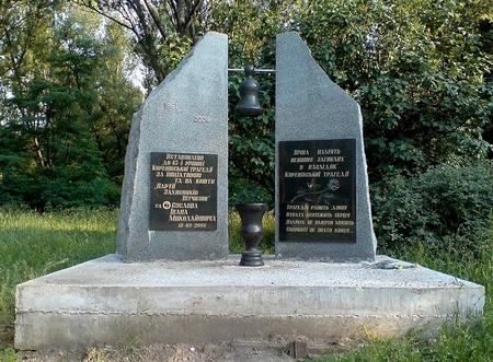 Đài tưởng niệm nhân 45 năm thảm họa tại Kiev (1961-2006)