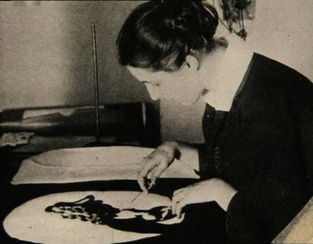 Bà Lotte Reiniger - Ảnh tư liệu