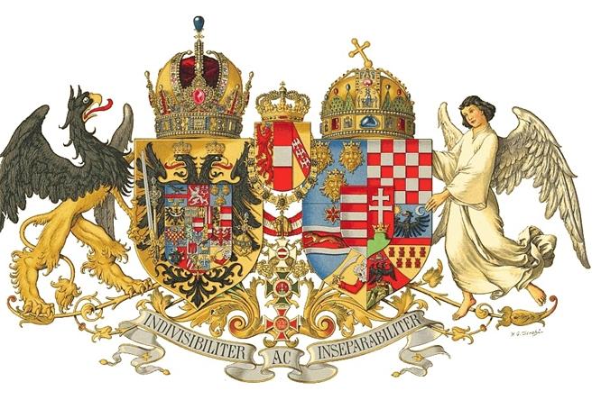Quốc huy của Nền quân chủ Áo - Hung (Österreichisch-Ungarische Monarchie)