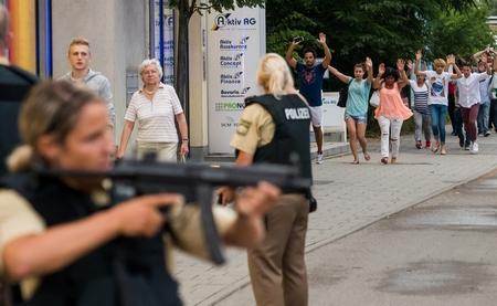Munich đã lâu lắm mới được chứng kiến những cảnh tượng kinh hoàng...