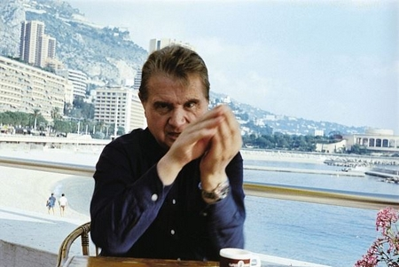 Francis Bacon ở Monaco năm 1981 - Ảnh: Eddy Batache (MB Art Collection)