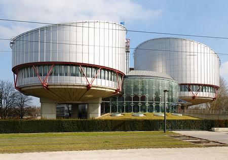 Trụ sở Tòa án Nhân quyền Châu Âu tại Strasbourg (Pháp) - Ảnh: wiki