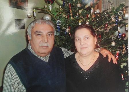Ông András và bà Rozália trong dịp Giáng sinh cuối cùng trước khi bà qua đời - Ảnh: Gy. Balázs Béla