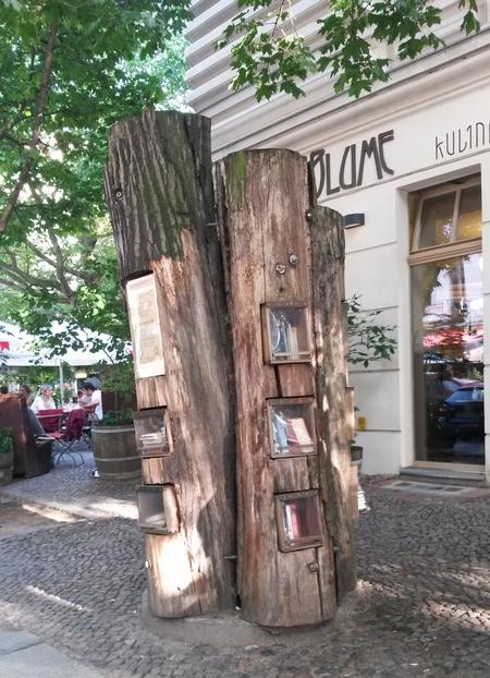 Cây sách ở quận Pankow, Berlin