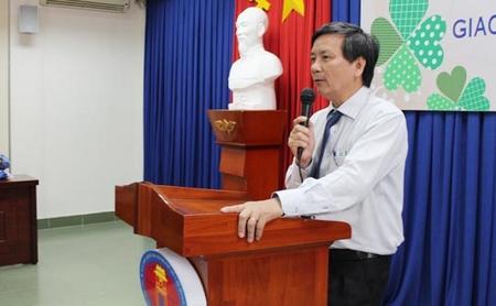 TS. Đoàn Lê Giang - Ảnh: nhavantphcm.com.vn