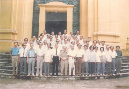 Kỷ niệm 45 năm ngày ra trường Đại học Sư phạm Hà Nội khóa 1954-57 - Ảnh tư liệu