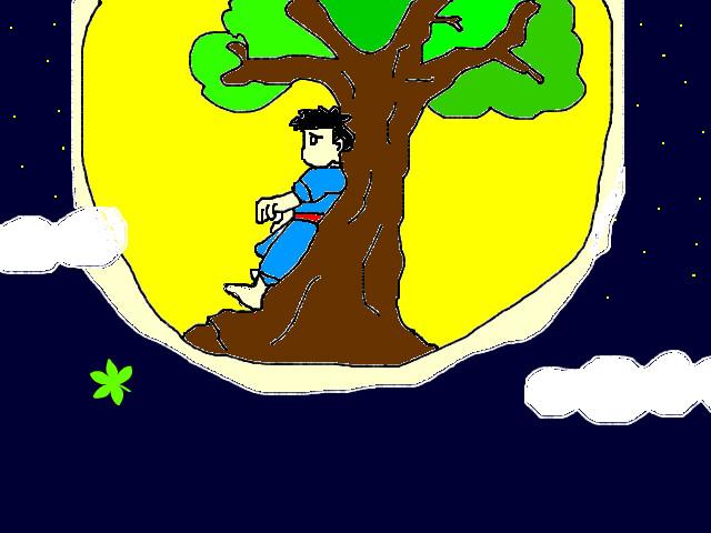 Chú Cuội ngồi gốc cây đa...