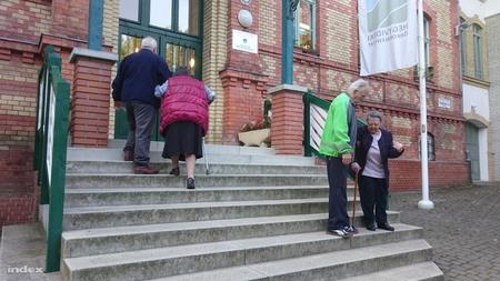 Thủ tướng Orbán Viktor sẽ đi bỏ phiếu tại một trường tiểu học ở Zugliget (Budapest) - Ảnh: Nyilas Gergely (index.hu)
