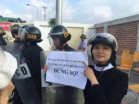 Môi trường và công lý còn không, ở Việt Nam? - Ảnh: Facebook