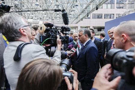 Thủ tướng Orbán Viktor, người chống lại nhiều đường lối của EU một cách quyết liệt - Ảnh: MTI