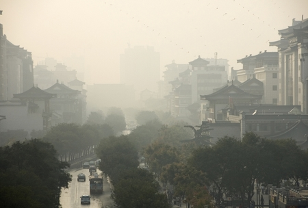 Ô nhiễm không khí trầm trọng tại Bắc Kinh và phía Bắc Trung Quốc - Ảnh: Internet