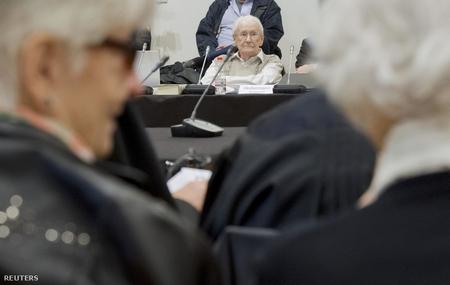 Kẻ bị coi là đã đồng lõa trong sự sát hại ít nhất 300 ngàn người Do Thái Hung tại - Ảnh: Pool (Reuters)