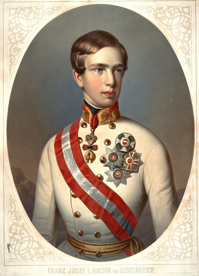 Chân dung vị hoàng đế trẻ (năm 1848)