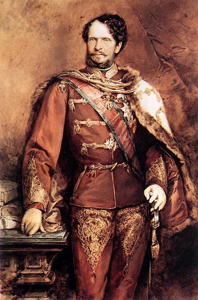 Bá tước Andrássy Gyula từ một tử tù khiếm diện trở thành Thủ tướng Vương quốc Hungary - Họa phẩm của Benczúr Gyula