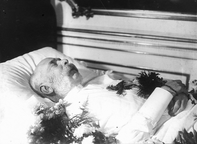 Franz Joseph khi từ giã cõi đời - Ảnh: Wikipedia