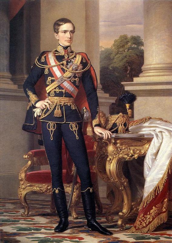 Vị hoàng đế trẻ trong bộ quân phục tướng quân của Hungary - Ảnh: Wikipedia