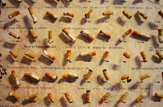 4.213 đầu mẩu thuốc lá của Füsun, những ký ức tình yêu tại Bảo tàng Ngây thơ - Ảnh: DesignFaves.com