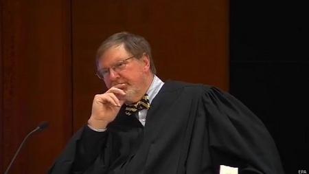 Thẩm phán Liên bang James Robart, người dám đối đầu với vị tân tổng thống - Ảnh: EPA