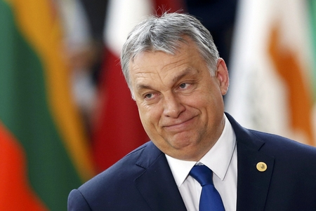 Thủ tướng Orbán Viktor, người được coi là thù địch với các tổ chức dân sự hay phê phán chính quyền - Ảnh: index.hu