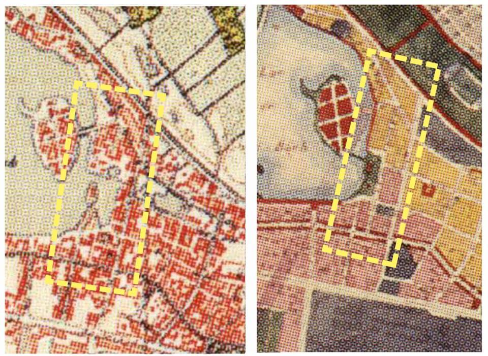 Bản đồ Hà Nội năm 1936 và quy hoạch năm 1943
