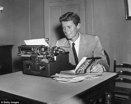 John F. Kennedy thời trẻ - Ảnh tư liệu