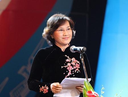 Bà Nguyễn Thị Kim Ngân, nữ Chủ tịch Quốc hội đầu tiên của nước CHXHCN Việt Nam - Ảnh: canthotv.vn