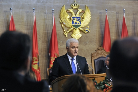 Thủ tướng Dusko Markovic - Ảnh: Savo Prelevic (AFP)