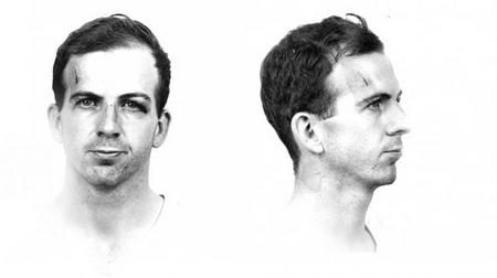 Ảnh kẻ bị coi là sát thủ, Lee Harvey Oswald trong hồ sơ của cảnh sát Mỹ - Ảnh tư liệu