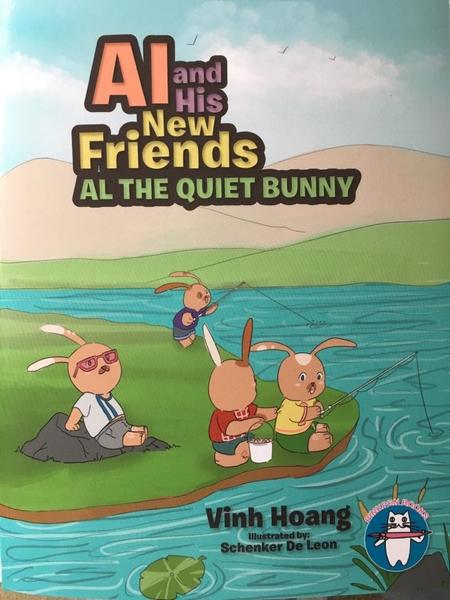 """""""Al và những người bạn mới"""", một trong ba cuốn sách viết cho thiếu nhi vừa được xuất bản của tác giả Vinh Hoàng"""