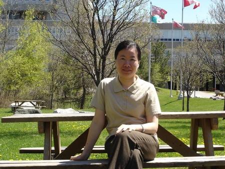 Tác giả Trương Thị Hoàng Yến - Ảnh: Facebook của nhân vật
