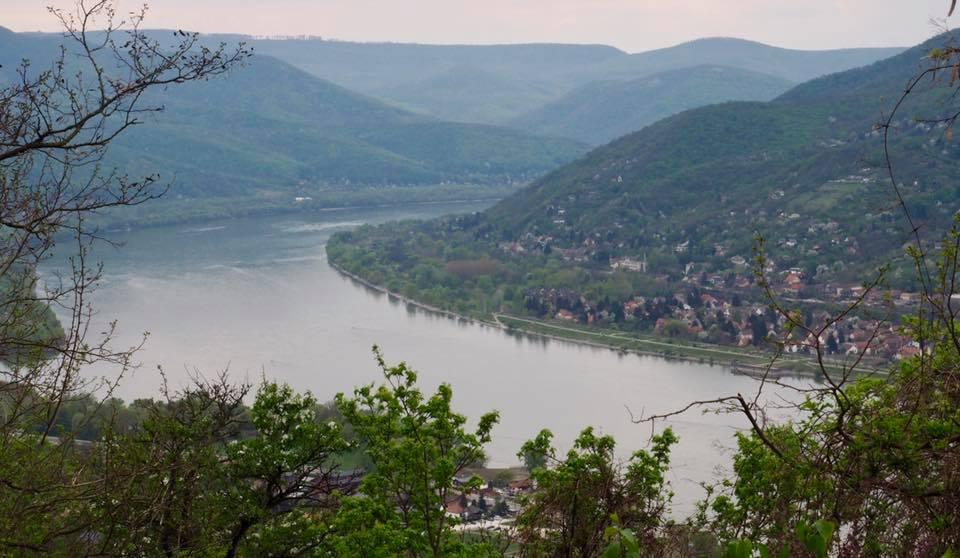Khúc ngoặt của sông Danue, được coi là đoạn đẹp nhất của con sông dài 2.850km